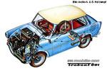 Trabant 601 Querschnitt