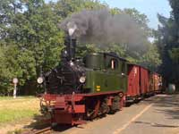 Der 100 jährige Königlich Sächsische IV K-Zug