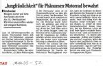 Sächsische Zeitung vom 11.06.2009