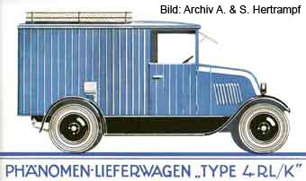 Lieferungswagen mit Kastenaufbau (1927/1928)