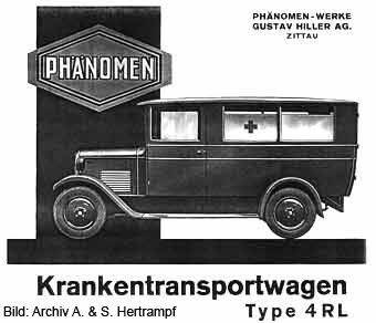 modernisierte Ausführung des Phänomen 4RL 1929 bis 1931