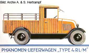 Lieferungswagen mit Mulde (1927/1928)