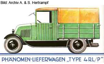 Lieferungswagen mit Pritsche (1927/1928)