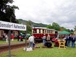 historische Stationärmotoren bei der Historik Mobil 2008 im Zittauer Gebirge