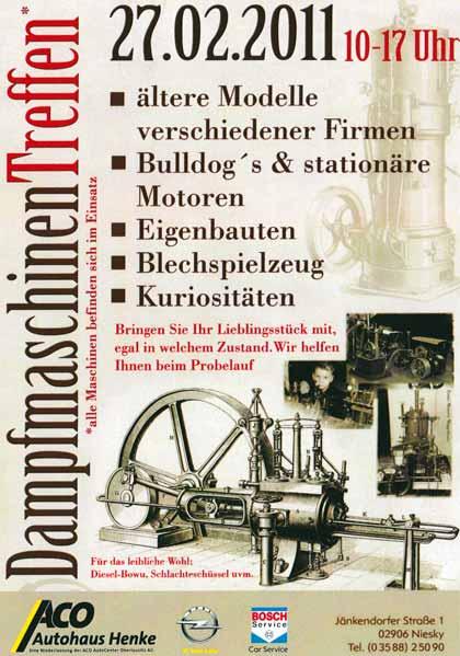 Dampfmaschinentreffen Niesky 2011