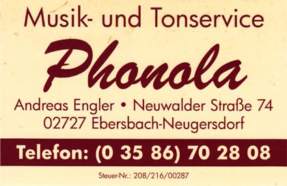 Phonola Andreas Engler